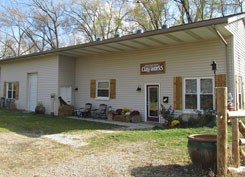 Whistle Stop Clay Works pottery studio and ceramic arts gallery