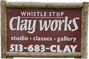 Whistle Stop Clay Works, phone: 513-683-6386
